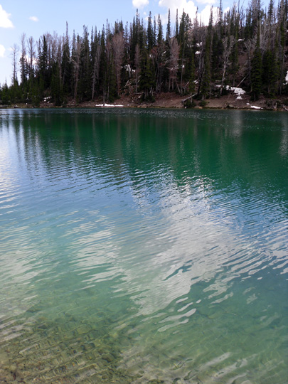 Upper Norton Lake.